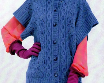 Short Sleeves Kimono Vest