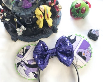 Wicked Witches Disney-inspired Mickey Ears