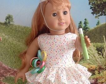 Sprinkles Happy Birthday Party Dress