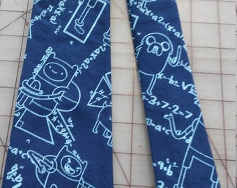 Adventure Time Mathematics Neckties in bow tie and standard tie styles