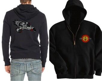 Serenity, Firefly Hoodie, Zip up hoodie,