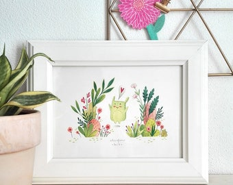 Waiting For Spring - Small Art Print