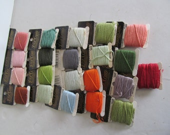 Lot of Embroidery Floss Needlepoint Embroidered Embroidery Thread 100% Cotton Embroidery Floss Skeins Embroidery Floss Cross Stitch Thread