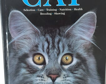 Vintage cat encyclopedia book  1990's, 90's