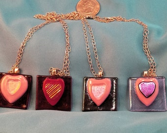 Heart of my heart necklaces