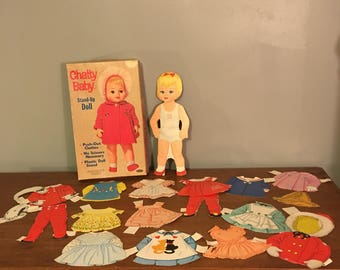Chatty Baby Paper Doll Set