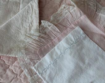 Vintage Doll Bedding Vintage Doll Quilt Vintage Doll Pillowcase Vintage Doll Blanket Vintage Doll Bed