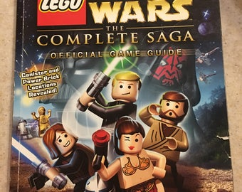 Lego Star Wars Complete Sage Game Guide Book 2007