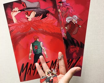 Mayhem! Comics and Keychain