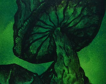 Fungus Amungus Painting