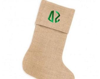 Delta Zeta Christmas Stockings