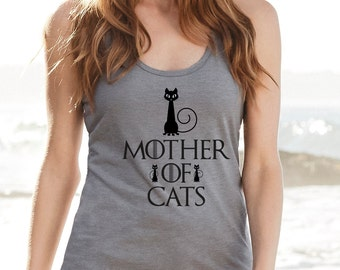 Top Mother of Cats - Game of thrones - Daenerys - Targaryen - Mother of dragons