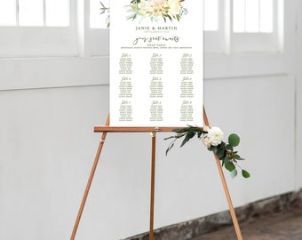 Seating Chart - White Summer (Style 13816)