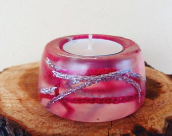 Resin and chain lights Holder