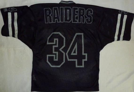 raiders jersey shirt