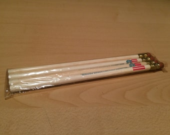 Package of 4 Vintage Hercules Division American Cement Corporation Pencils
