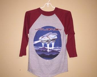Rare Vintage 1980s JOURNEY Escape Tour '82 Shirt Collectible