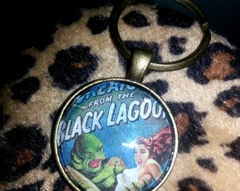 Creature from the Black Lagoon Keychain - Retro Horror
