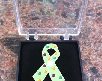 Pre/Postpartum Mood Disorder Awareness Ribbon