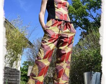 wax DrawString waist pants