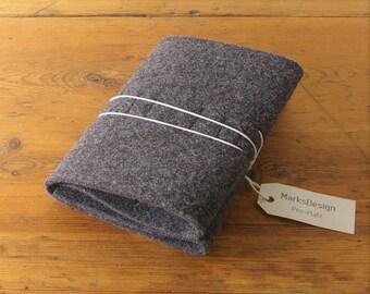 Pen-Square, made of felt, Stiftemappe, Stifterolle, Spring bag
