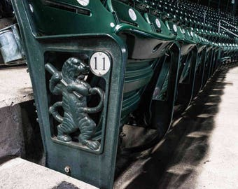 Seats at Comerica Park, Detroit Tigers, Michigan- Photography Prints