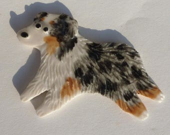 Dog Pin Porcelain Any Breed Ceramic Popogirl Original Since 1995