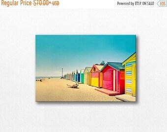 ON SALE beach house canvas wrap beach canvas art 12x18 24x36 fine art photography ocean canvas gallery wrap large canvas print nautical deco