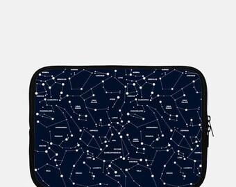 Constellation iPad Sleeve, Galaxy iPad Sleeve, Stars iPad Sleeve, Navy Blue iPad Mini Sleeve, Kindle, Space iPad Sleeve, Tablet Sleeve