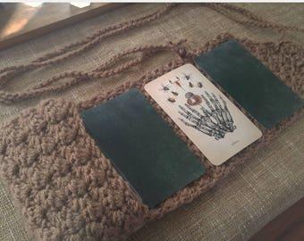 Brown Tarot Pocket with Reading Mat