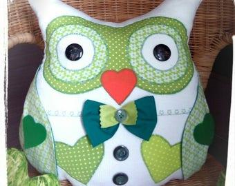 Owl Pillow Owl