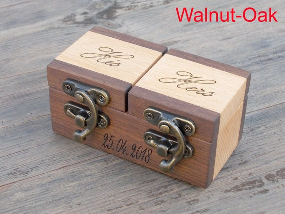 Walnut rustic ring bearer box wood ring box wood ring box walnut rustic ring bearer box wood ring box wood ring box wedding ring box wedding ring holder proposal ring box wedding ring holder junglespirit Image collections