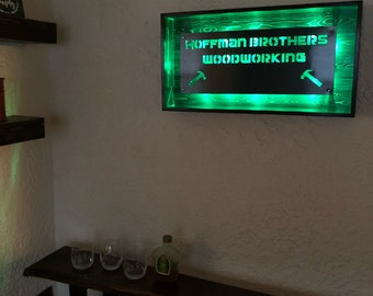 Cutom shadow box sign light up sign LED *your text here*