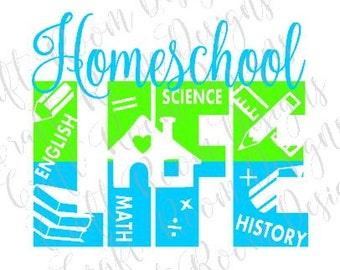 Homeschool Life Digital Design