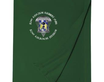 82nd Aviation Brigade Embroidered Blanket-3518