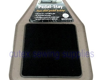 Pedal-Stay Non Skid Sewing Machine Pedal Holder Pad