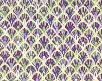 Hoffman Quilt Fabric Annabelle Jewel Lilac Pearl