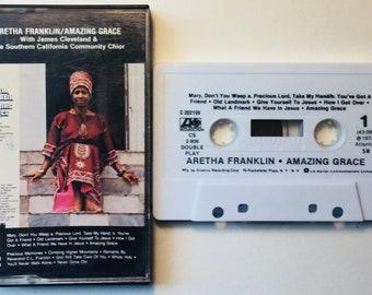 Aretha Franklin : Amazing Grace (Cassette Tape)