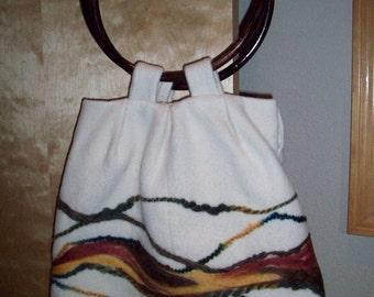 Felted Southwest Handbag