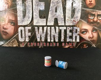 Custom Dead of Winter Starvation Tokens (pkg of 6)
