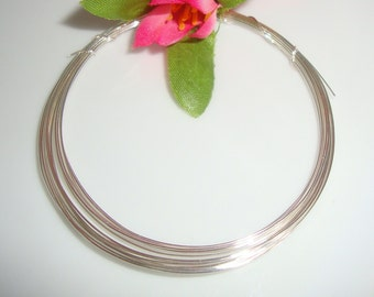 925 Sterling Silver Wire, 5ft, 24 Gauge, Dead Soft, round, beading wire