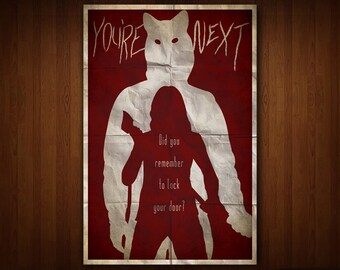 You're Next Poster (Multiple Sizes)