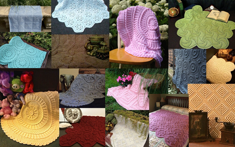 Matelassé Crochet Afghan Pattern Collection-Etsy