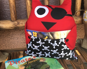 Owl Be Your Book Buddy (Pirate)