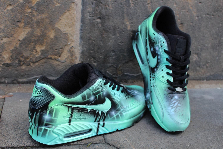 Mint Blue Nike Shoes