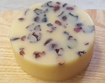 Rose Hip and Cocoa Butter Lotion Bar | Local Pick Up Only | Handmade Beauty | Solid Lotion Bar | 2 ounce