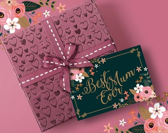 For the Best Ladies Greeting Cards - Digital Files