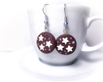 Star Pan earrings//gift for her//birthday//gift for Girls