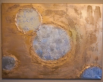 Textured abstract painting / art on 18 x 24 canvas / wall art / contemporary / original / textured art / abstract art / abstract canvas art