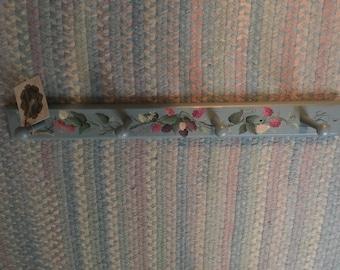 Raspberries peg hook hanger